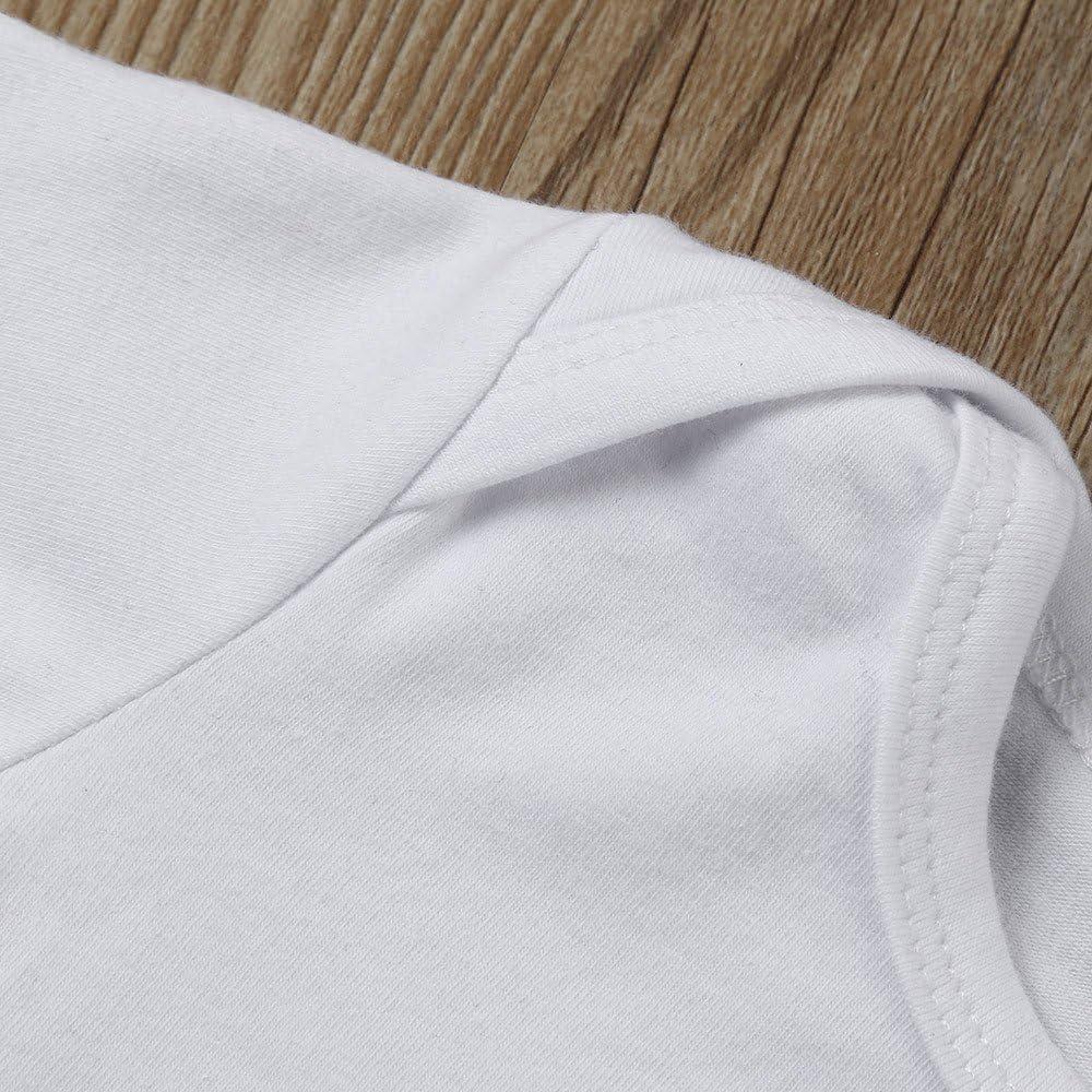 3pcs Baby Neugeborenes M/ädchen Jungen Kleidung Lange /Ärmel Strampler Overall Baby Kleidung Set Hut Outfits Spielanzug Set 2018 Xinantime Hosen