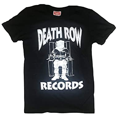 Death Row Records Record Label Logo Offiziell Herren T Shirt