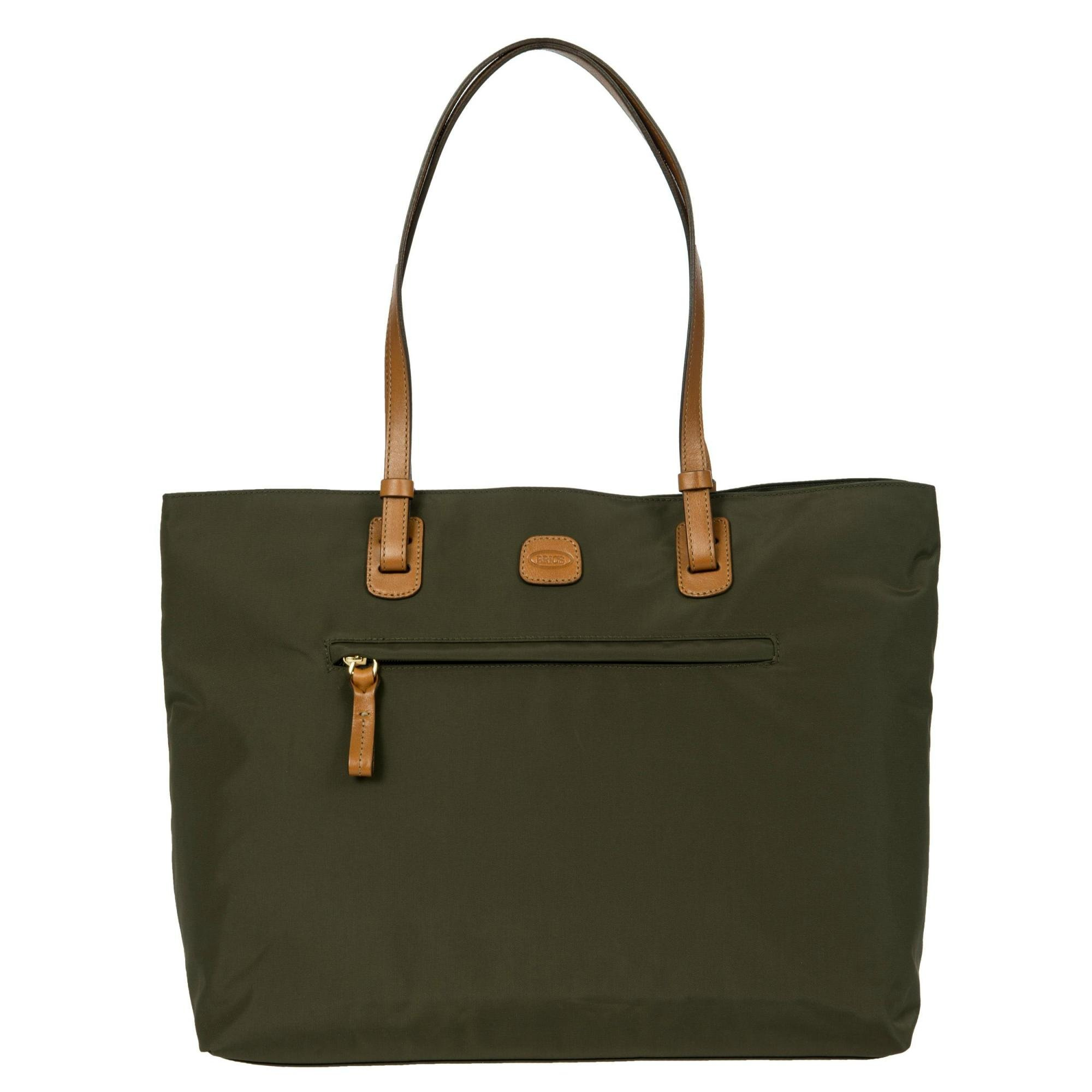 Bric's Women's X x-Travel 2.0 Ladies' Business Tablet Bag Laptop Tote, Olive, One Size by Bric's