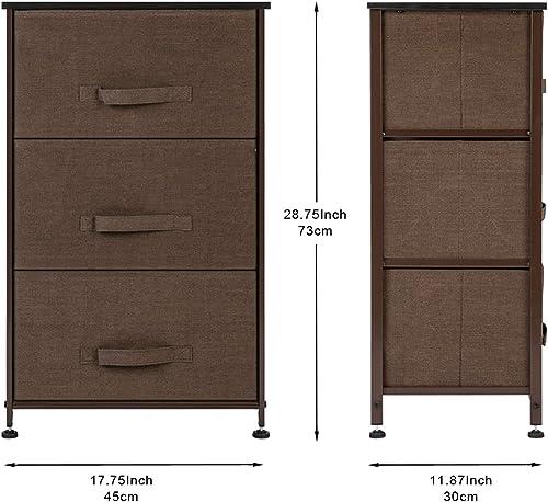 LeafRed C COXEM 3-Tier Dresser Drawer