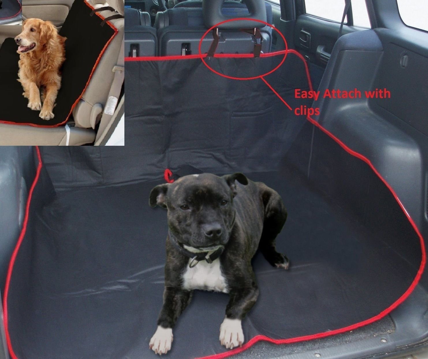 Generic DYHP-A10-CODE-2680-CLASS-1-- Pets Mat Universal Waterproof Dog Pets Car Boot Liner ctive W Rear Seat ear S Cover Predective ot Line-NV_1001002680-HP10-UK_436