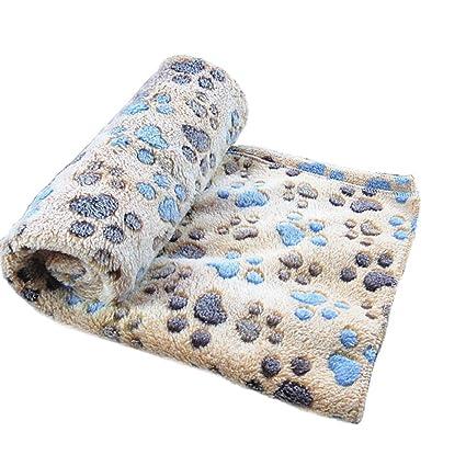 Wicemoon - Manta para perro, manta cálida y gruesa, muy suave y esponjosa,