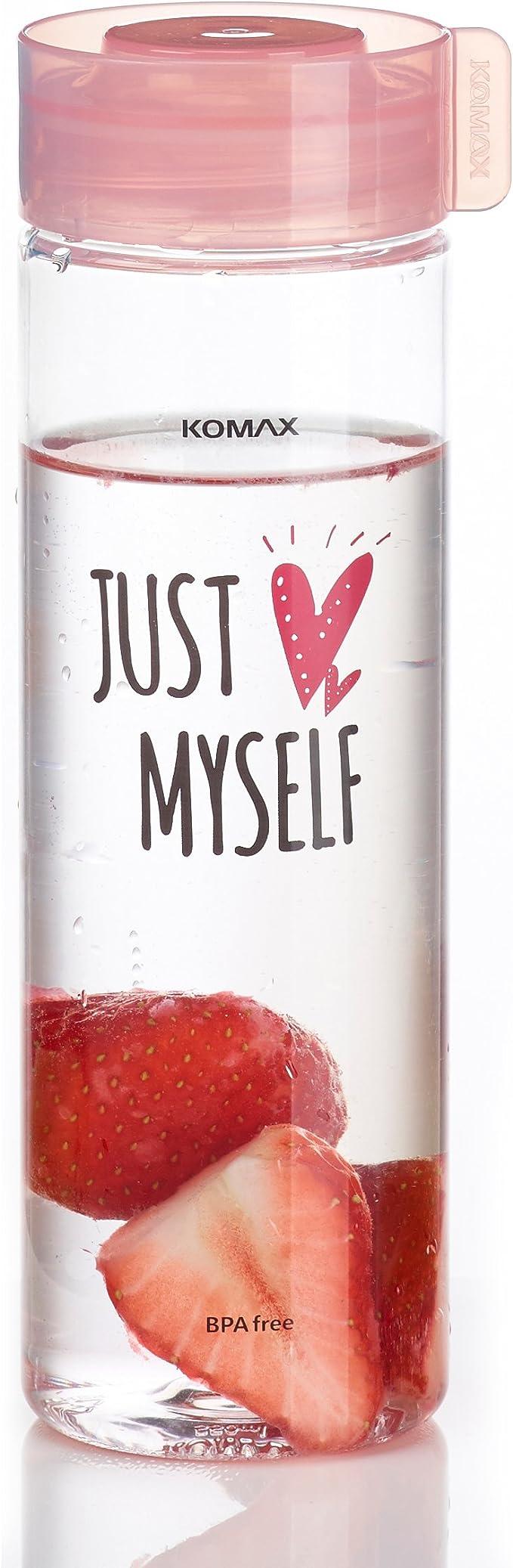 Komax - Botella de agua y zumo (peso ligero y portátil, tamaño de ...
