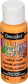 product image for DecoArt Crafter's Acrylic Paint, 2-Ounce, Squash Blossom