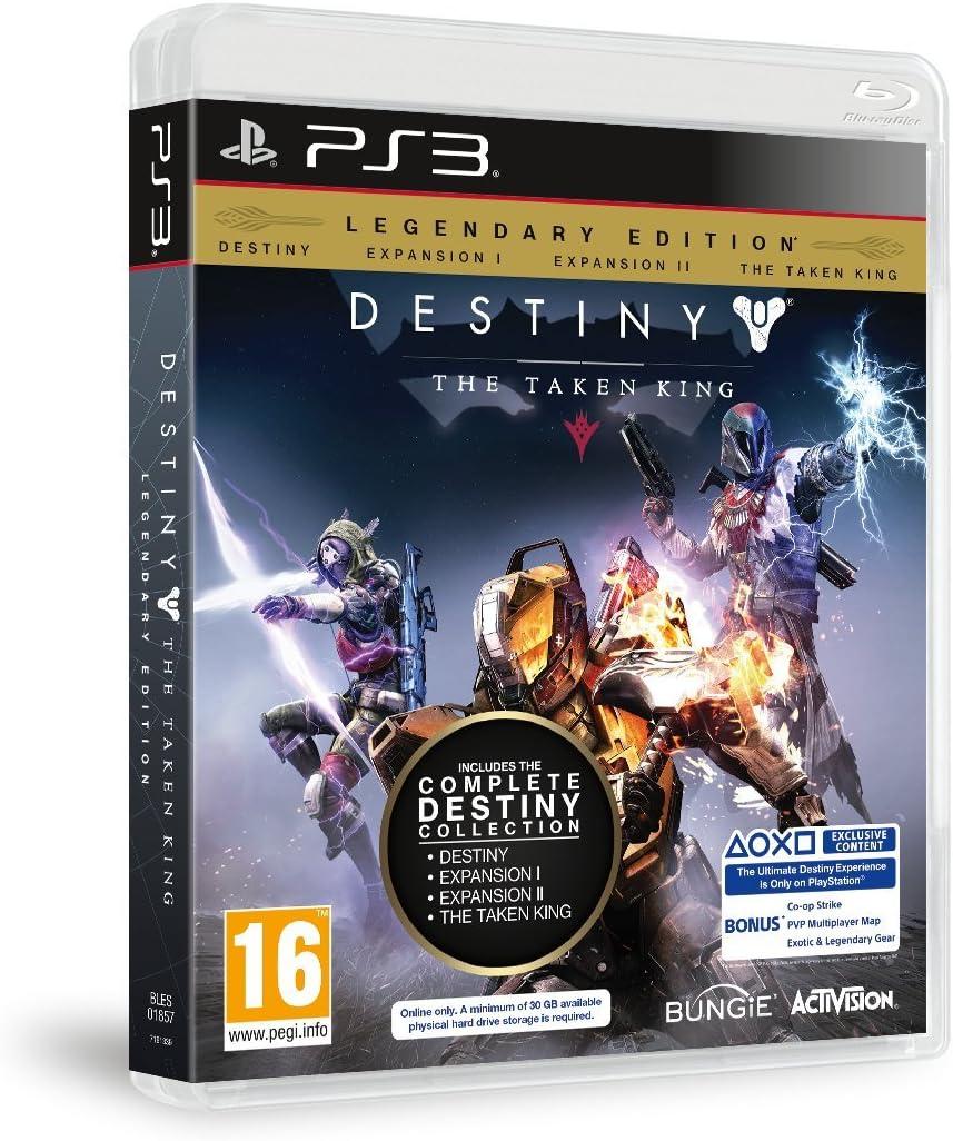 Destiny The Taken King PS3 Legendary Edition