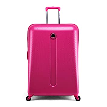 delsey pink luggage