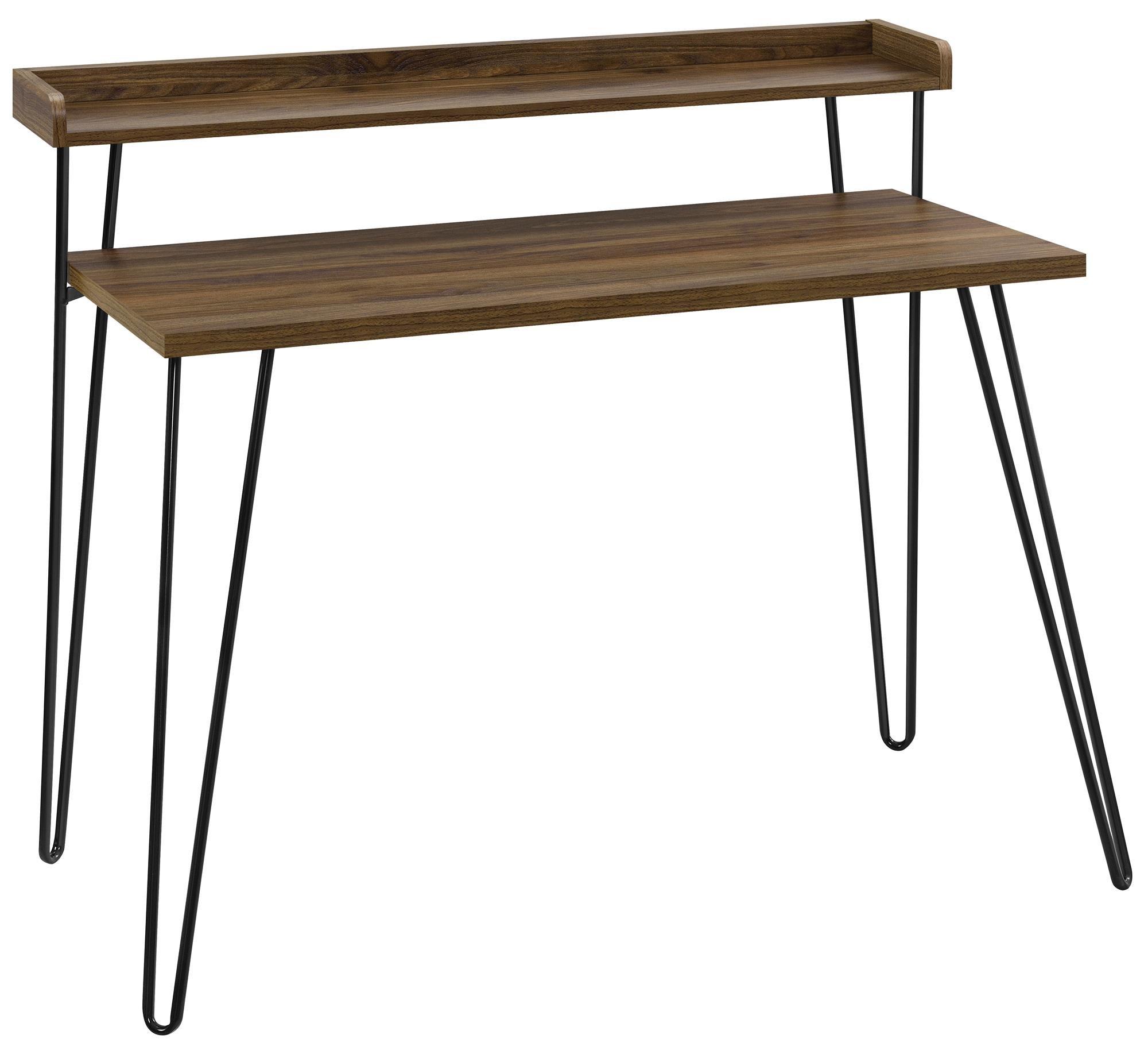 Ameriwood Home 9881396COM Haven Retro Desk Riser, Walnut