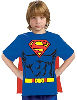 Amazon.com: Child Superman Top and Cape Costume: Toys & Games
