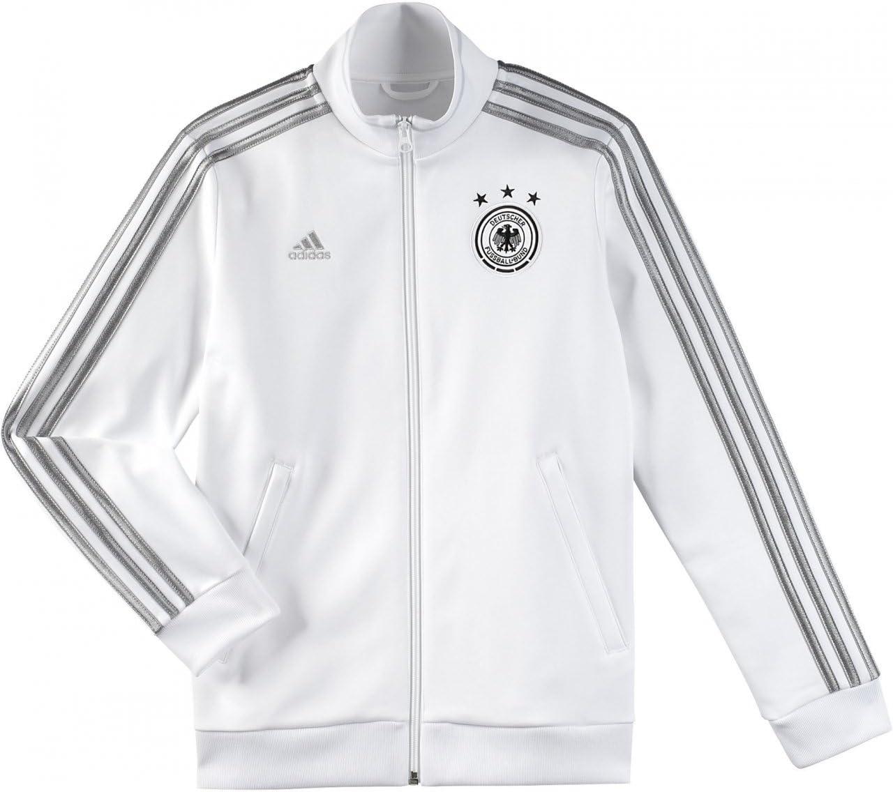 Adidas fútbol Chaqueta alemania nuevo 164: Amazon.es: Deportes y ...