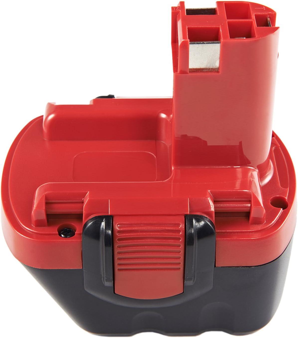 Ni-MH 12.0V Batterie pour BOSCH GSR 12VES 2100mAh