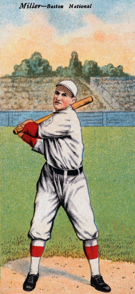 ボストンDoves – Roy Miller – 野球カード# 2 24 x 36 Giclee Print LANT-21774-24x36 B017ZJTY9Q  24 x 36 Giclee Print