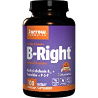 Jarrow Formulas B-right Complex, Supports Engery, Brain and Cardiovascular Health...