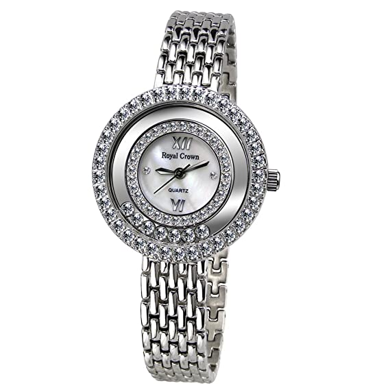 Joya de la corona de la mujer real reloj - Analógico Cuarzo 3628s: Amazon.es: Relojes