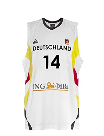 new style 2aa4b a9157 PEAK Jersey Dirk Nowitzki Germany 2015 white 4XL: Amazon.co ...