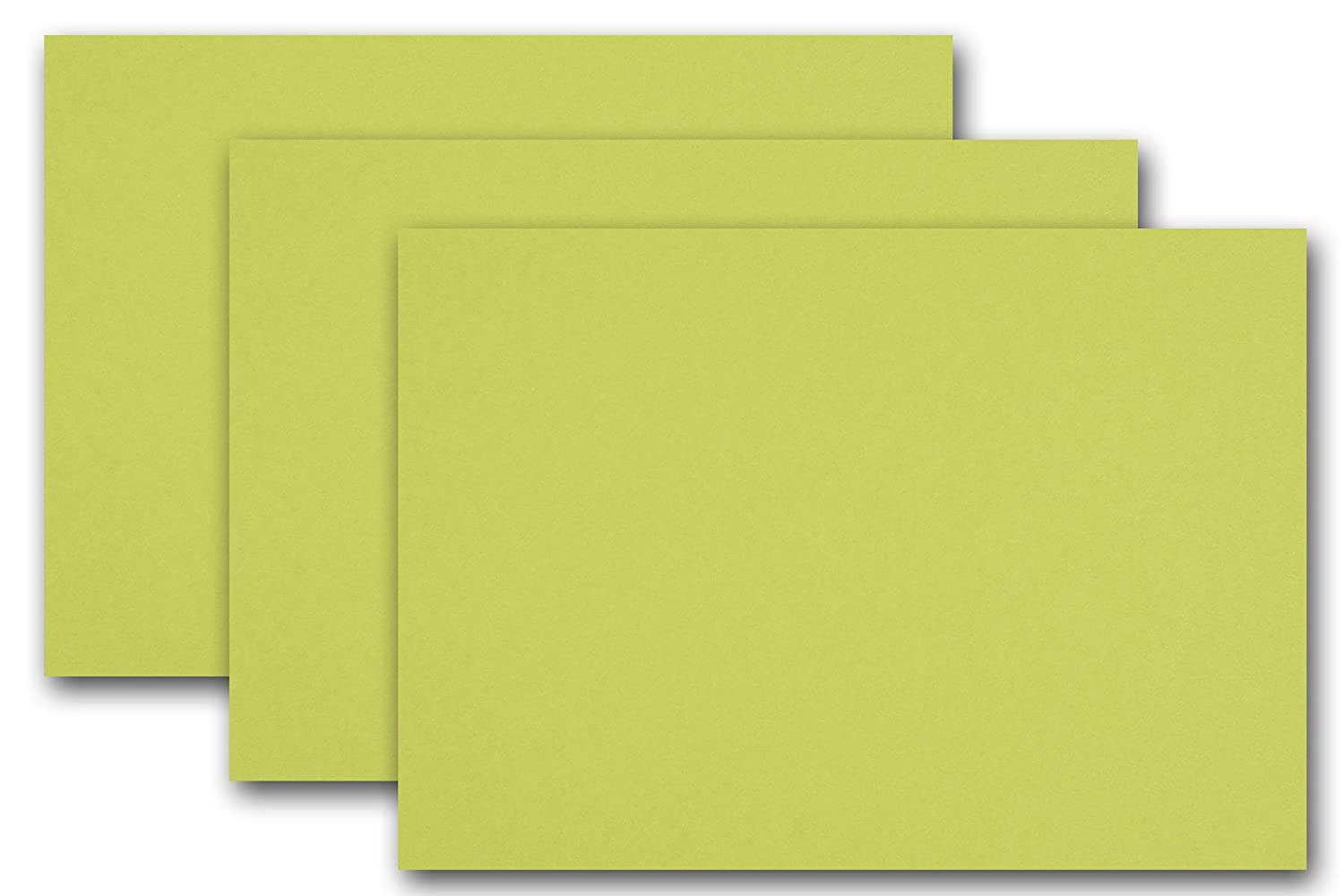 Premium Colored Blank 5x7 Card Stock (50, Black Licorice) CutCardStock 4336867720