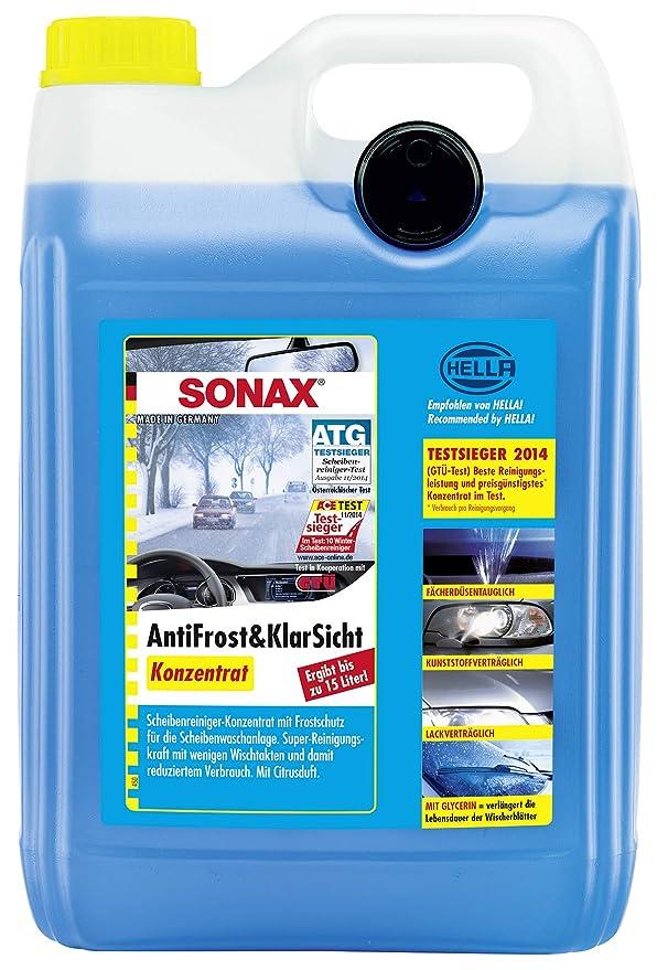 SONAX 332100 - Concentrado anticongelante y visión Clara