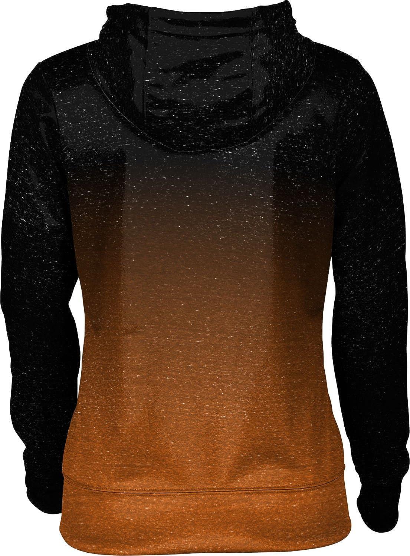 Buffalo State College Girls Zipper Hoodie Ombre School Spirit Sweatshirt