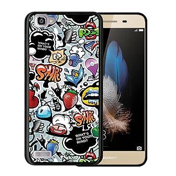 WoowCase Funda Huawei P8 Lite Smart, [Huawei P8 Lite Smart ...
