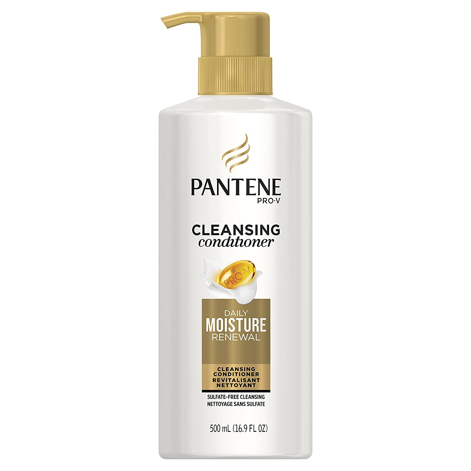 Pantene Pro-V Daily Moisture Renewal Cleansing Conditioner, 16.9 fl oz (Packaging May Vary)