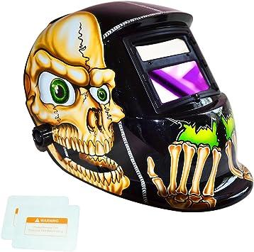 Auto Darkening Solar Welding Helmet Welders Mask Protective Shield Hood Grinding
