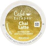 Cafe Escapes Chai Latte K-Cups, 96 Count