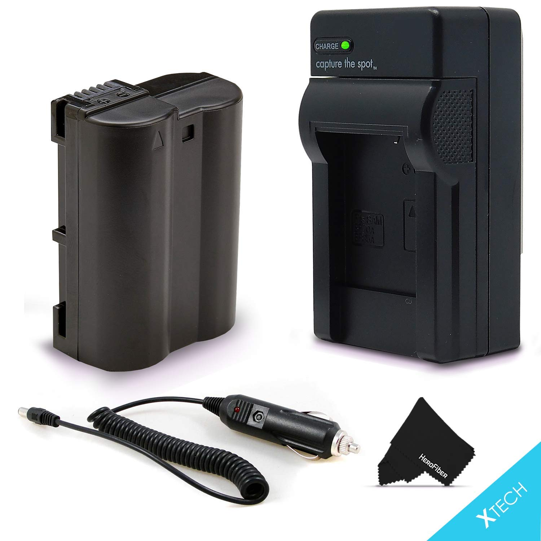 High Capacity EN-EL15/ENEL15 Battery and Battery Charger Kit for Nikon D850 D750 D500 D7000 D7100 D7200 D7500 D810A D810 D800 D800E D600 D610 1V DSLR Cameras