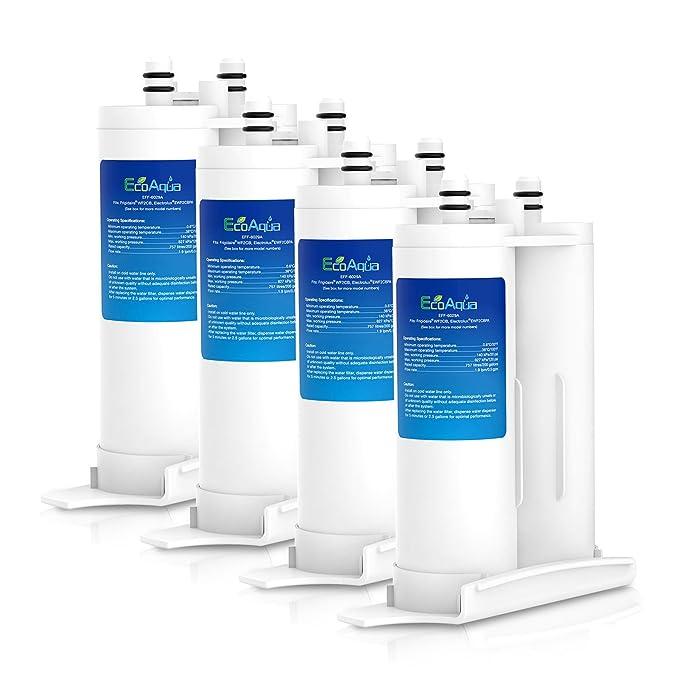 4 x agua EcoAqua eff-6029 a hielo y filtro de frigorífico para ...