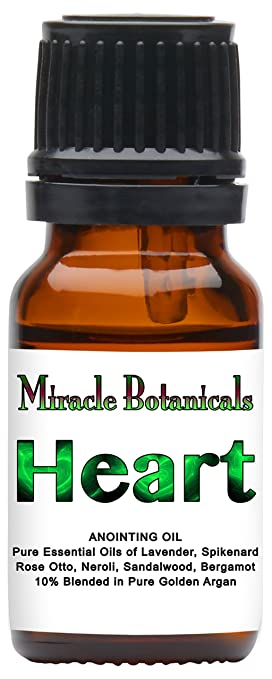 Amazon com: Miracle Botanicals Heart Annointing Oil - 10