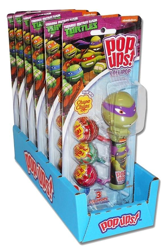 Nickelodeon Teenage Mutant Ninja Turtles Pop Ups Chupa Chups ...