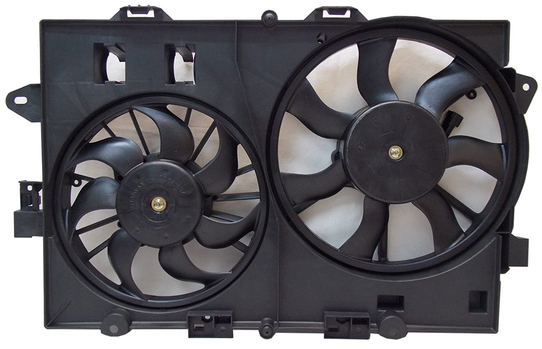 Sunbelt Radiator And Condenser Fan For Chevrolet Equinox Pontiac Torrent GM3115204 Drop in Fitment