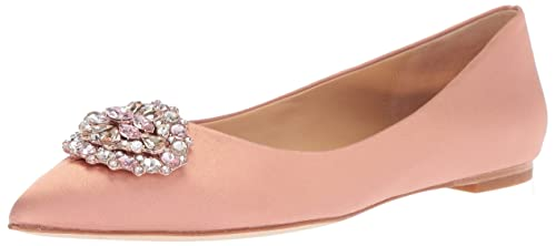ca41d6168c6f Amazon.com  Badgley Mischka Women s Davis Pointed Toe Flat  Shoes