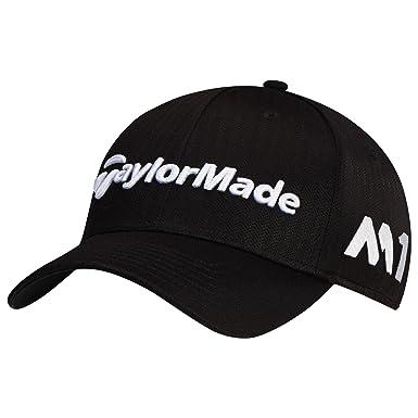 fbf60a6eeff6 Taylor Made Herren Baseball Cap Tour Radar, Schwarz (Negro B1596101),  Einheitsgröße