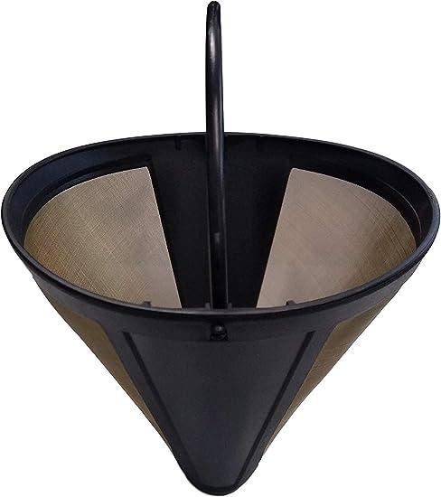 Amazon.com: 2 filtros de café reutilizables y lavables de ...