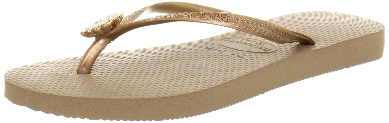 3820b8f5fe38e Amazon.com | Havaianas Women's Slim Flip Flop Sandals, Crystal Poem ...