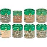 Simple Organic Basics 8 Spices Gift Set