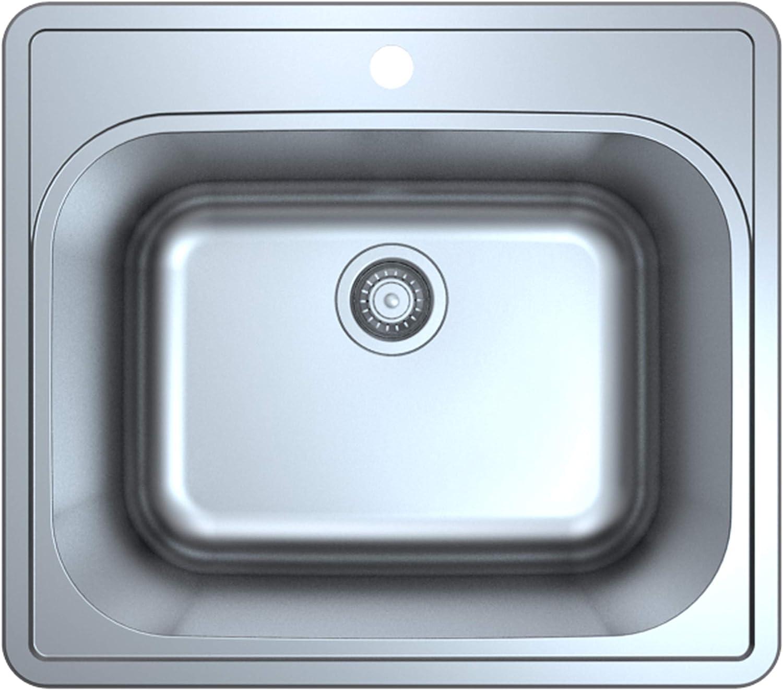 Extra Deep Center Drain Hole Kitchen Sale Ice Box 11 18 Ac Bar Sink Sale Bathroom Sinks