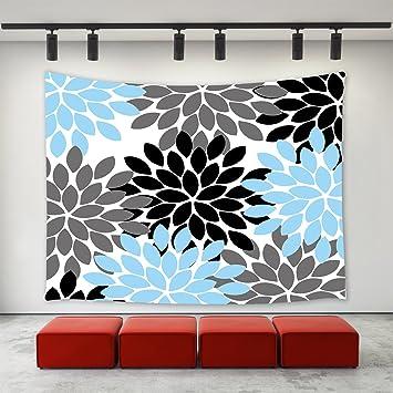 Amazon.com  LBKT Dahlia Flower Decor Tapestry Wall Hanging 36685e570