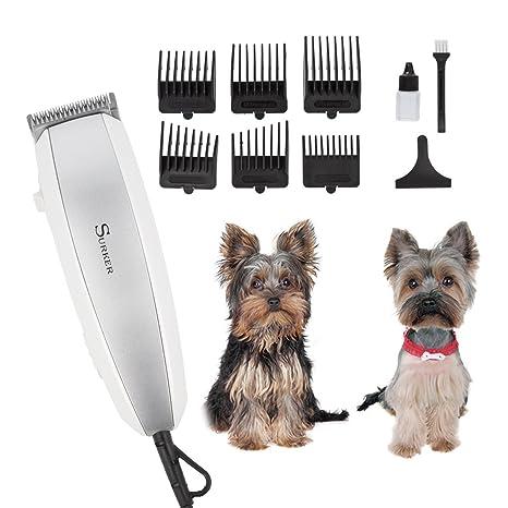 Cortadora de pelo eléctrica para animales para perros y gatos, cortadora de pelo para mascotas
