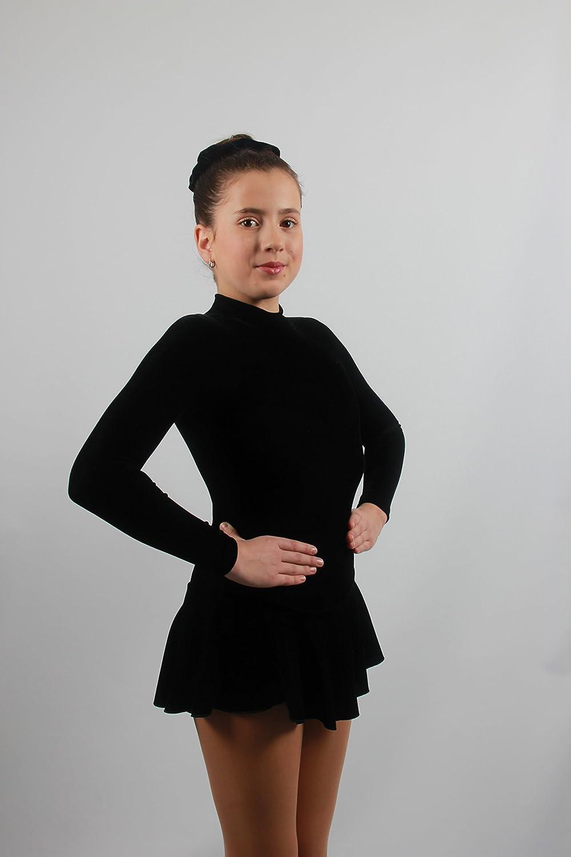 EMZA Eiskunstlauf  Kleid  Sport /& Freizeit  Wintersport  Eislaufen  Bekleidung  M/ädchen  Damen  Kleider