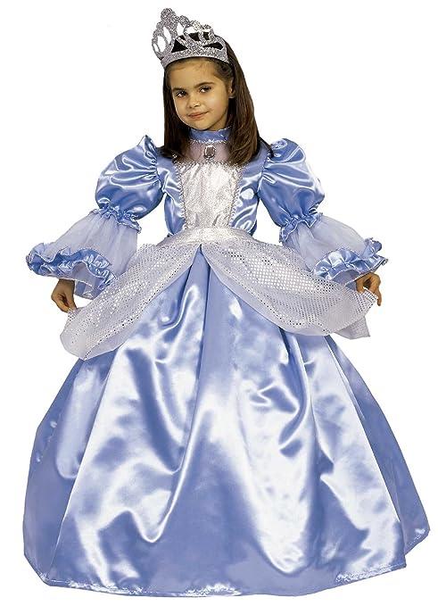sconto speciale di vera qualità consistenza netta Ciao - Principessa Sogno Azzurro 3 in 1 Costume Bambina, 4-6 Anni