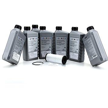 ORIGINAL Audi / VW: Kit de cambio completo para caja de cambios transmision DSG-7 velocidades (7 Litros + filtro): Amazon.es: Coche y moto
