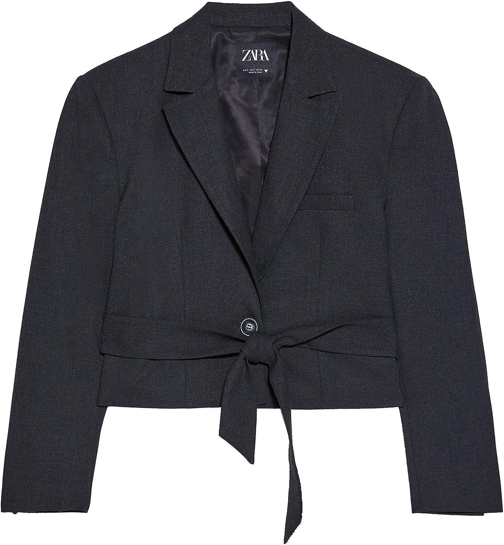 Zara 7901/201/801 - Blazer para Mujer con hombreras y ...