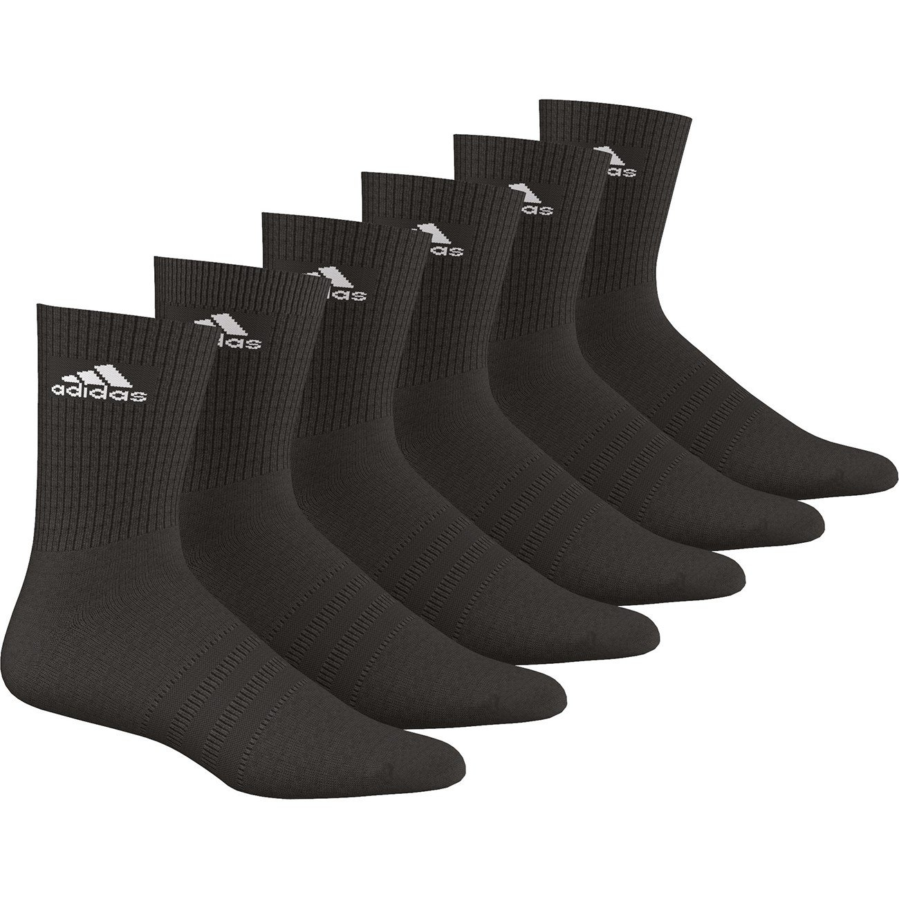 Adidas Unisex Socken Socken Socken 3-Streifen Crew, 6er-Pack B01BF9BSV4 Sportsocken Qualität ba9408