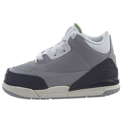 separation shoes 7920e 1f946 Jordan Retro 3 quot  Chlorophyll Light Smoke Grey Chlorophyll (TD) (2 M
