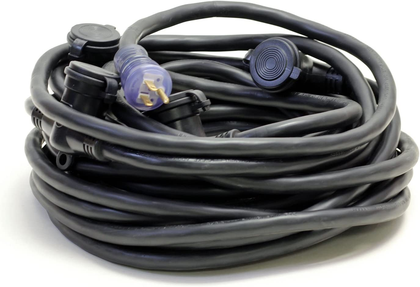 2 X 5ft Outdoor Extension Cord