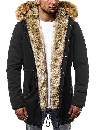 d42375ca4cd7 OZONEE Herren Winterjacke Parka Jacke Kapuzenjacke Wärmejacke Wintermantel  Coat Wärmemantel Warm Modern Camouflage Täglichen N 5578  Amazon.de   Bekleidung
