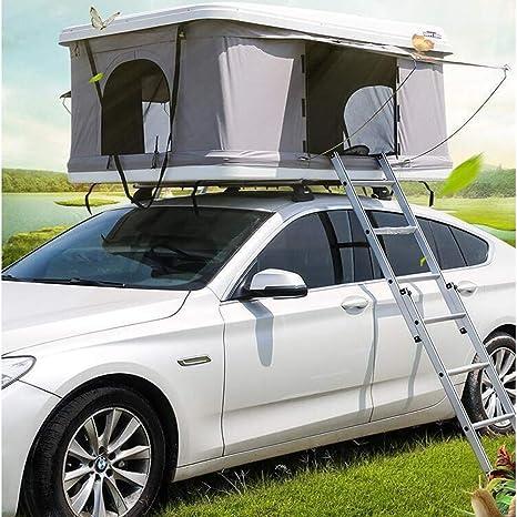 Tienda de Techo de la azotea del ABS, Equipo semiautomático hidráulico Impermeable de la Tienda del Coche de la protección Solar Que acampa - Equipo para Autos,Gray: Amazon.es: Deportes y aire libre