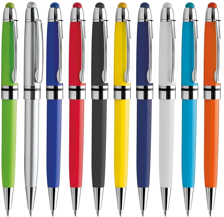 Penne personalizzabili personalizzate con nome logo o slogan Gadget promozionali - PC PD089 - 100 pezzi Stampa 1 colore Tuttoinunclick