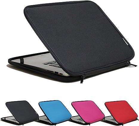 Laptop Sleeve Case 14 14.1 Inch Lovely Animals Balloon Sleeve Notebook Computer Pocket Bag Blue