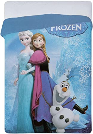 Copripiumino 180x260.Aymax Spro Copripiumino Motivo Disney Frozen Unica 180 X 260